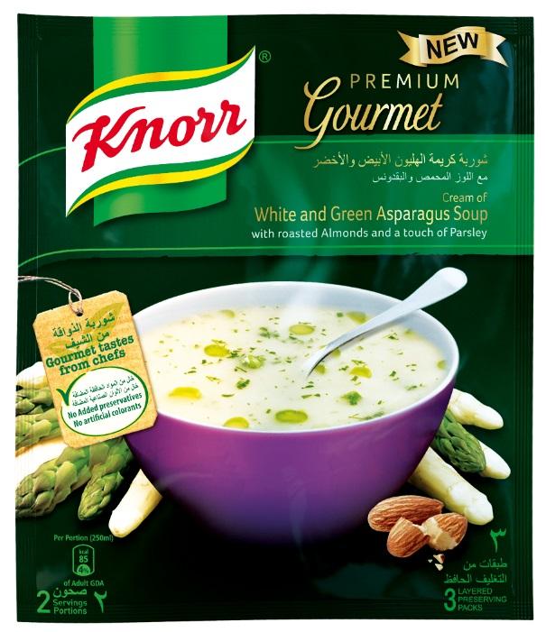 Knorr gourmet soups the food ailses aisle101dubai for 101 soup cuisine
